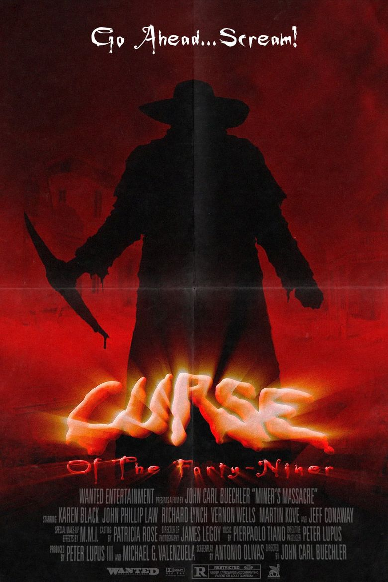 Curse of the Forty-Niner Poster