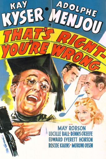 That's Right - You're Wrong Poster