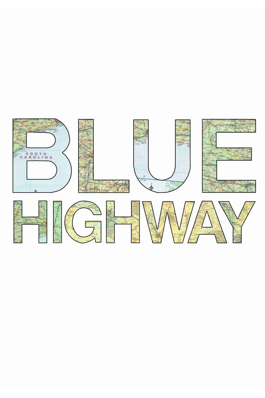 Blue Highway Poster