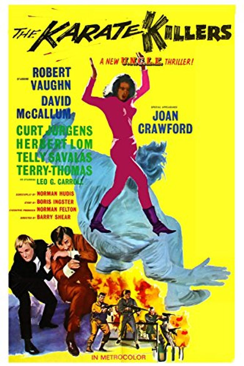 The Karate Killers Poster