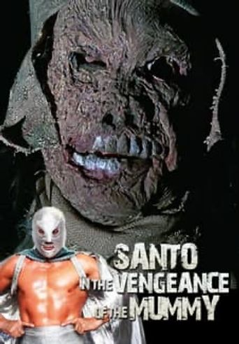 Santo and the Vengeance of the Mummy Poster