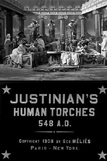 Justinian's Human Torches Poster