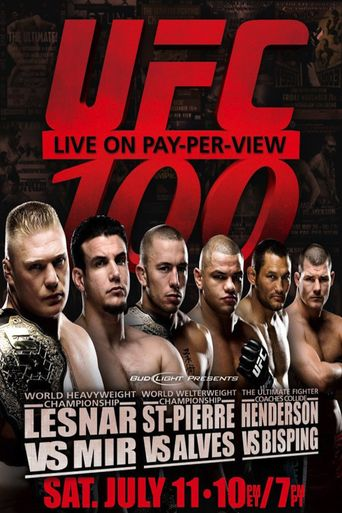 UFC 100: Making History Poster