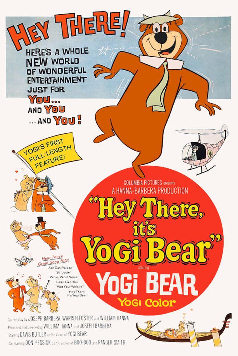 Hey There, It's Yogi Bear Poster