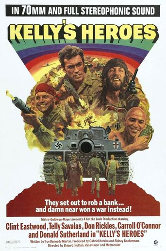 Kelly's Heroes Poster
