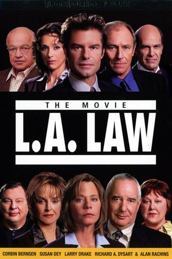 L.A. Law: The Movie Poster