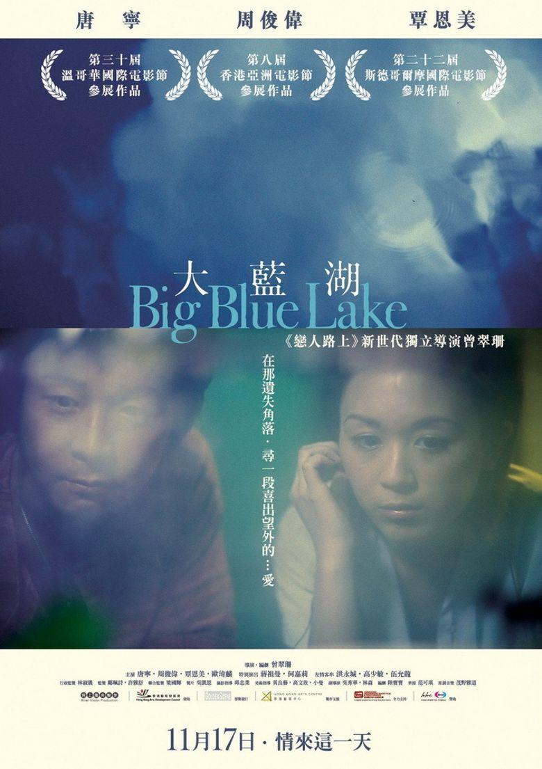 Big Blue Lake Poster