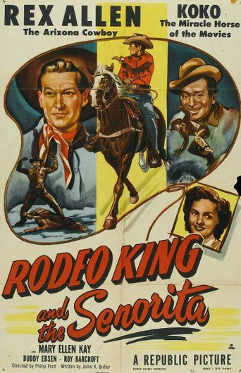 Rodeo King and the Senorita Poster