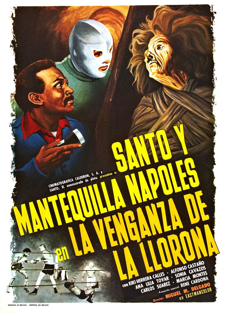 Santo in the Revenge of the Crying Woman Poster