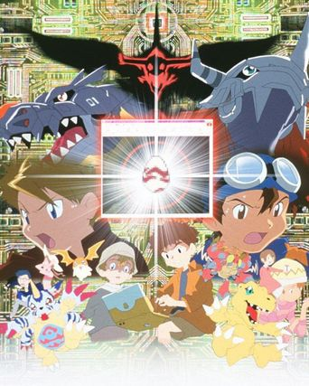 Digimon Adventure: Our War Game Poster