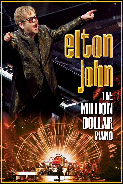 Elton John: The Million Dollar Piano Poster