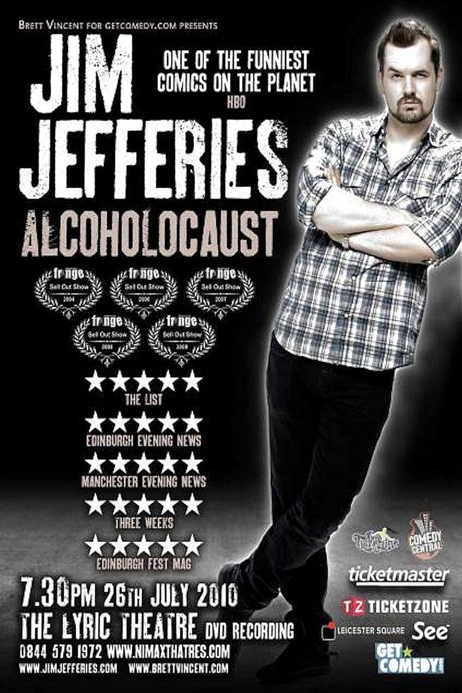 Jim Jefferies: Alcoholocaust Poster