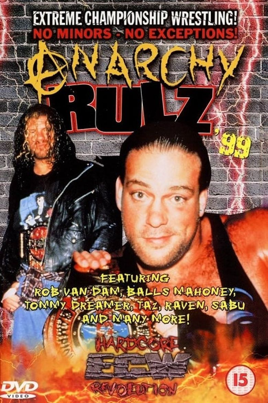 ECW Anarchy Rulz 1999 Poster