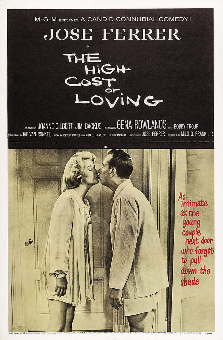 The High Cost of Loving Poster