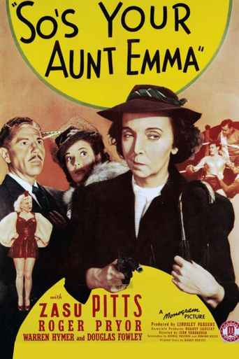 So's Your Aunt Emma! Poster