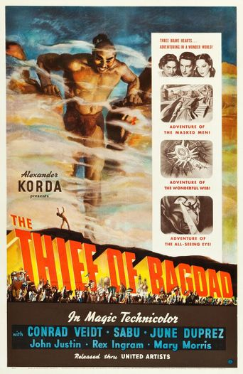 Watch The Thief of Bagdad