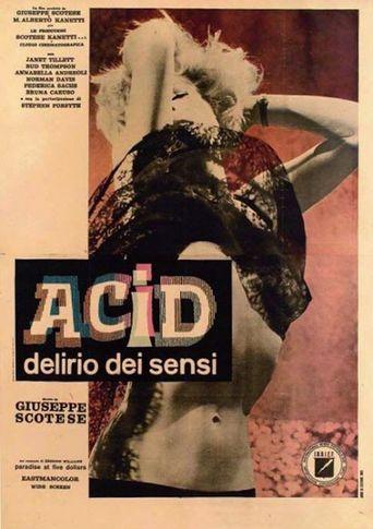 Acid Delirium of the Senses Poster