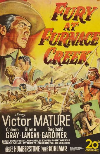 Fury at Furnace Creek Poster