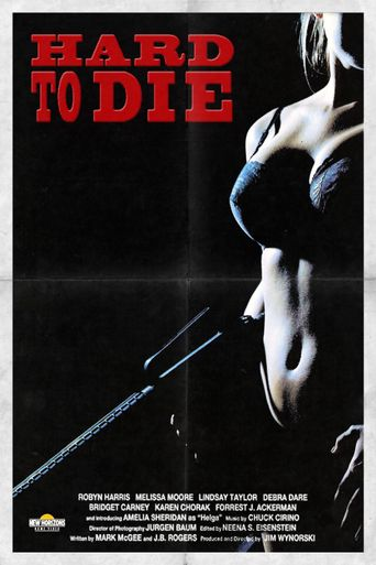 Hard To Die Poster