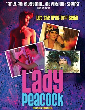 Lady Peacock Poster