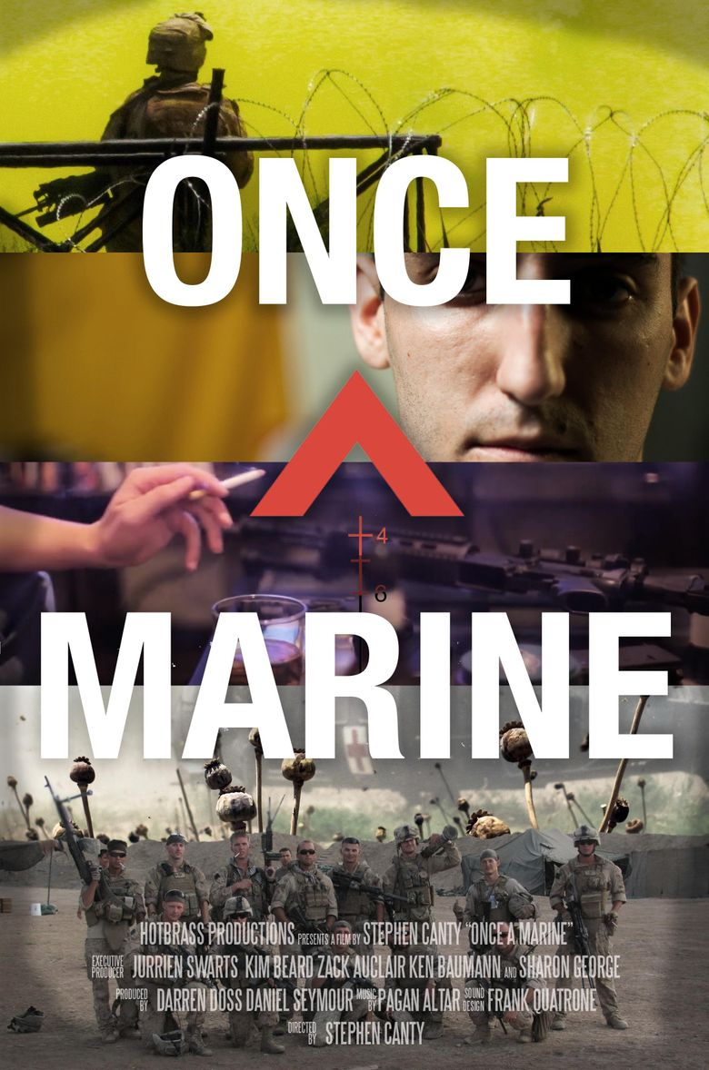 Once a Marine Poster