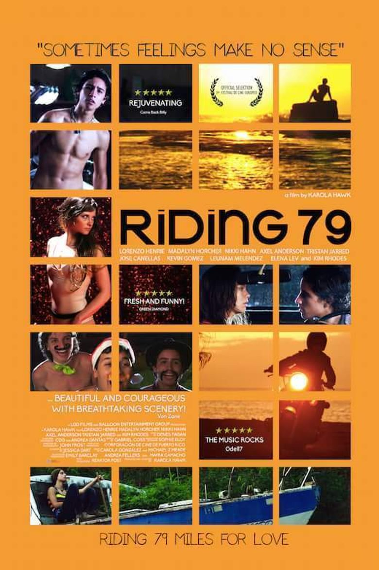 Riding 79 Poster