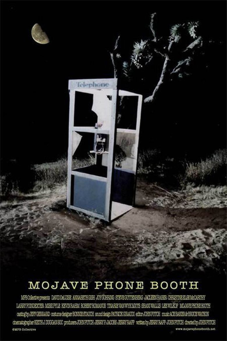 Mojave Phone Booth Poster