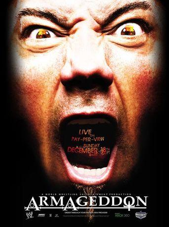 WWE Armageddon 2005 Poster