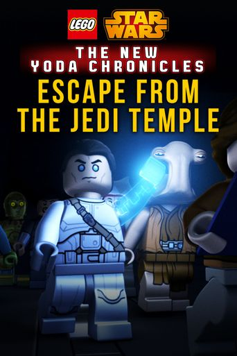 LEGO Star Wars: The New Yoda Chronicles - Escape from the Jedi Temple Poster