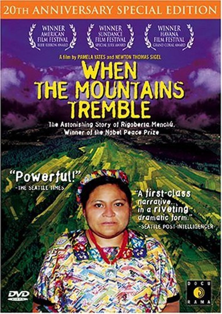 When the Mountains Tremble Poster