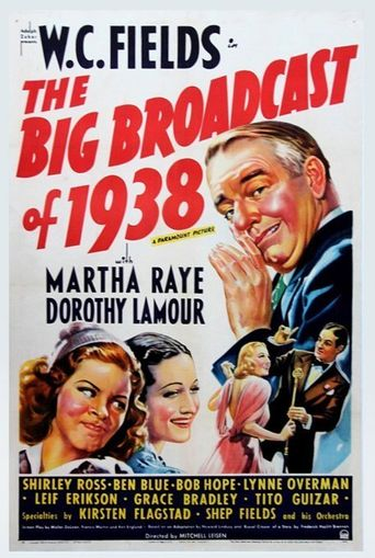 The Big Broadcast of 1938 Poster