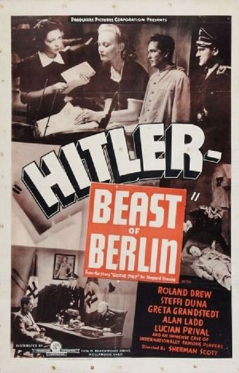 Hitler - Beast of Berlin Poster