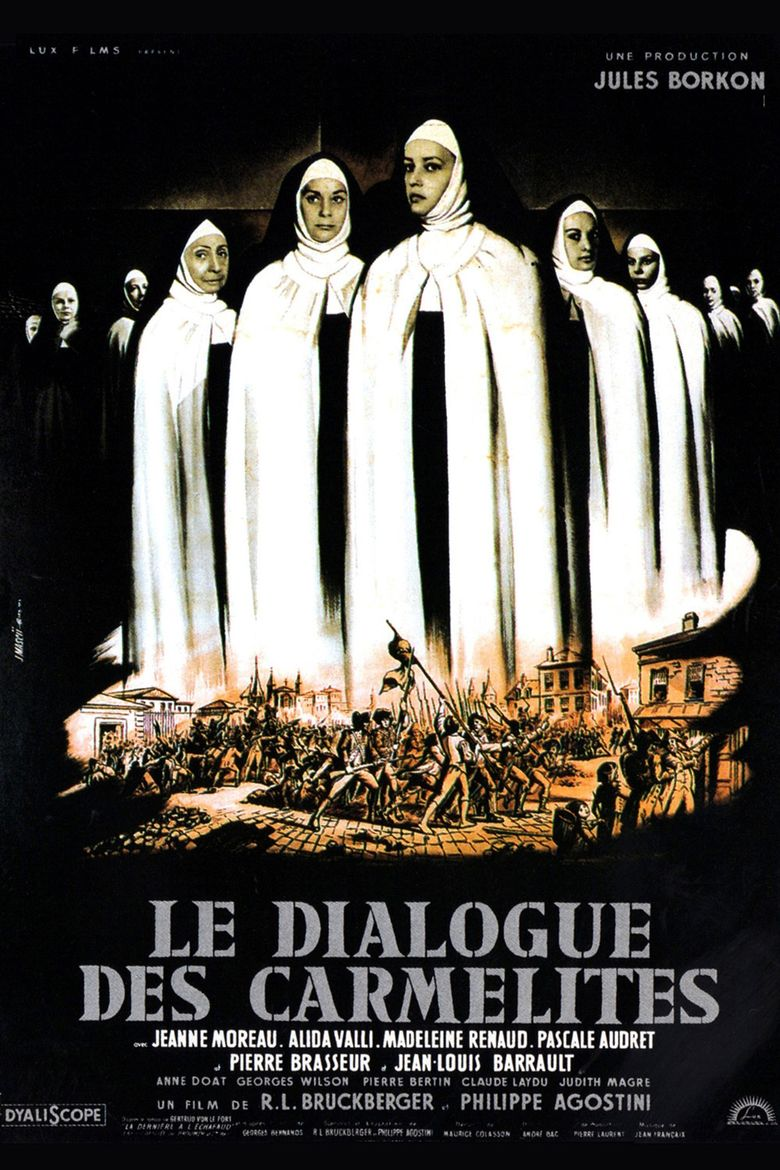 Dialogue with the Carmelites Poster