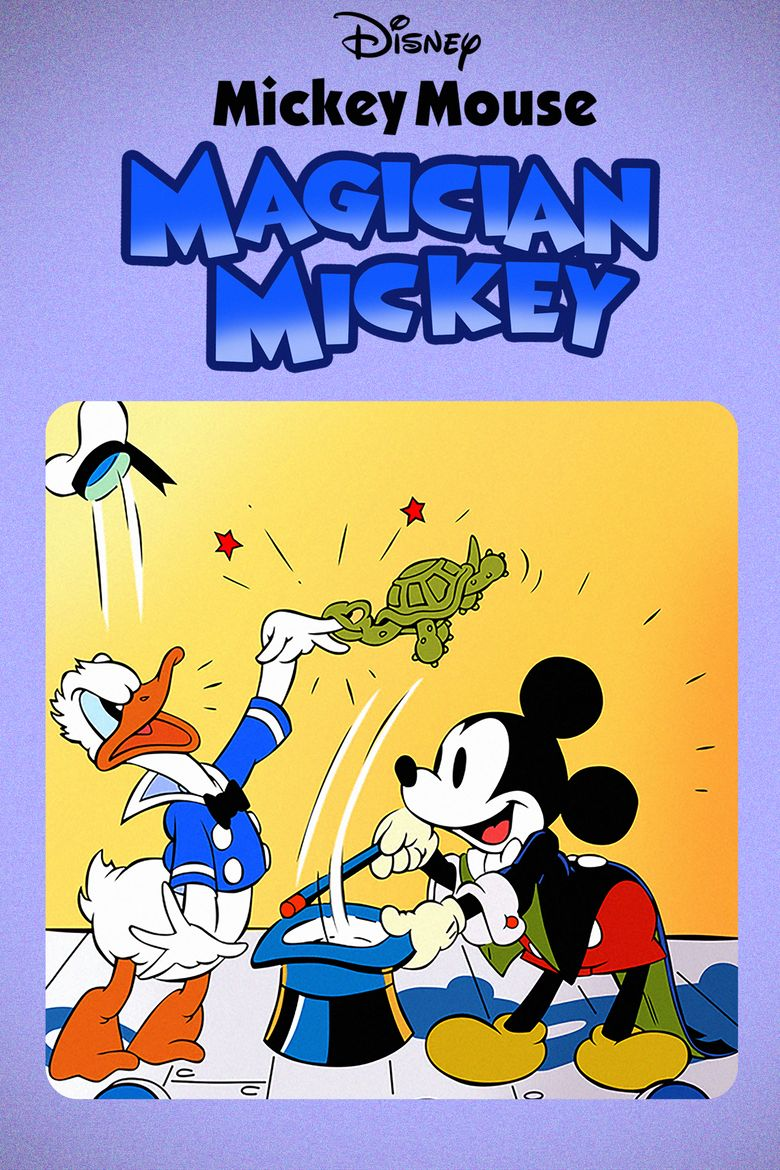 Magician Mickey Poster