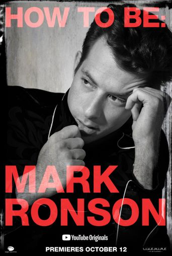 How To Be: Mark Ronson Poster