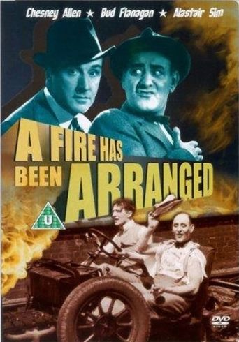 A Fire Has Been Arranged Poster