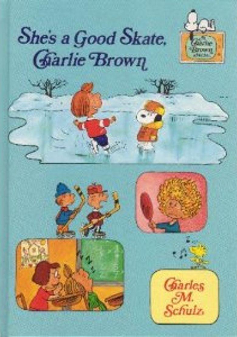 She's a Good Skate, Charlie Brown Poster