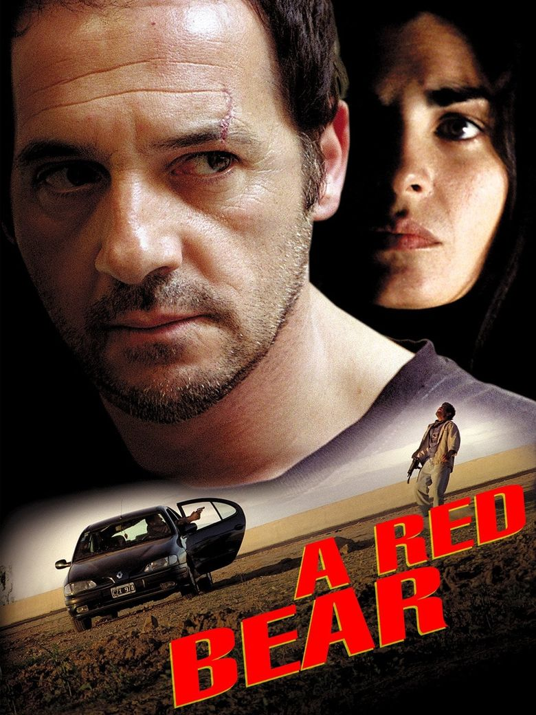 A Red Bear Poster