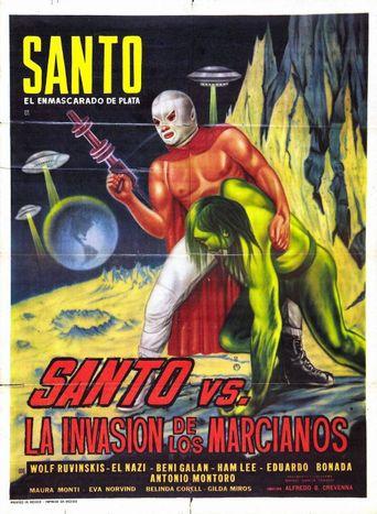 Santo vs. the Martian Invasion Poster