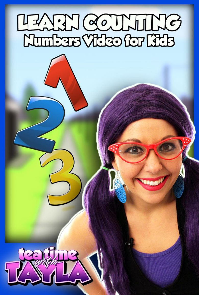 Learn Counting - Numbers Video for Kids Poster