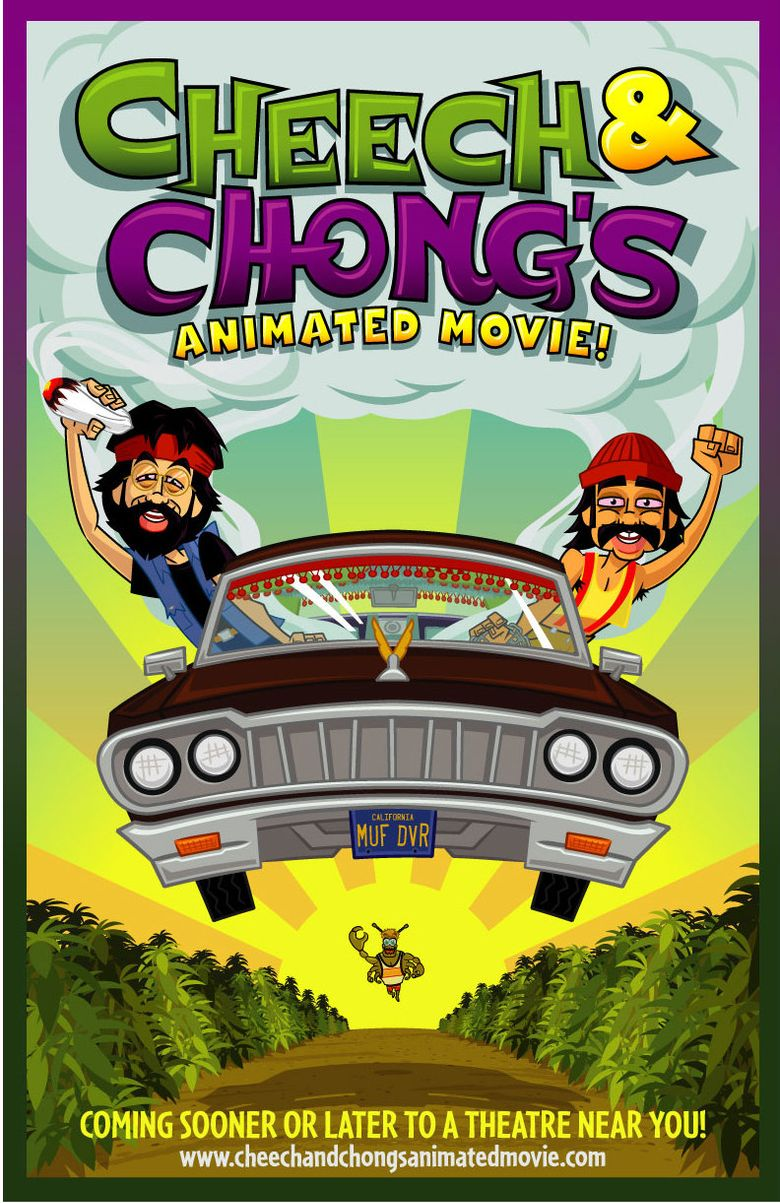 Cheech & Chong's Animated Movie Poster