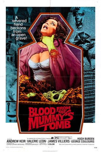 Blood from the Mummy's Tomb Poster