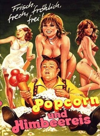 Popcorn and Ice Cream Poster