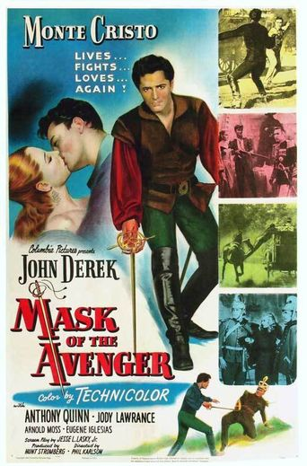 Mask of the Avenger Poster