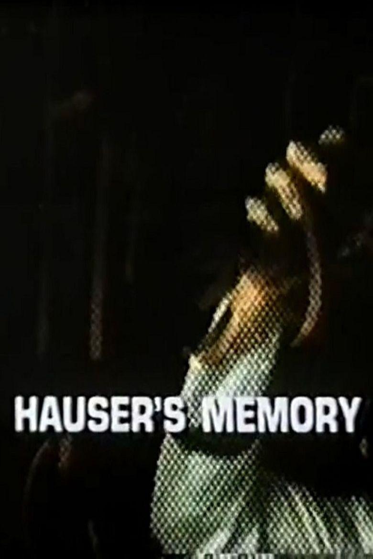 Hauser's Memory Poster