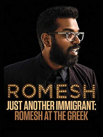 Just Another Immigrant: Romesh at the Greek Poster