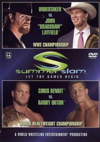 WWE SummerSlam 2004 Poster