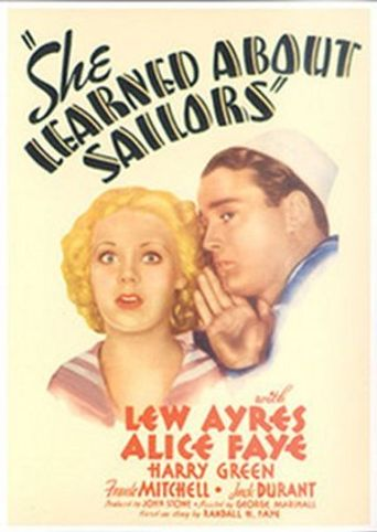 She Learned About Sailors Poster