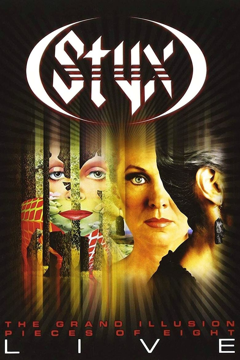 Styx - The Grand Illusion + Pieces of Eight - Live Poster