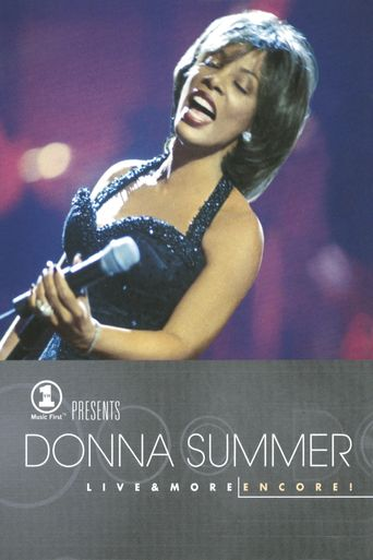 VH1 Presents Donna Summer: Live and More Encore! Poster